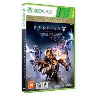 Game Xbox 360 - Destiny - The Taken King - Edicao Lendaria:Destiny