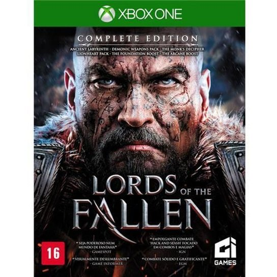 Game Xbox One Lords Of The Fallen: Complete Edition - Incolor
