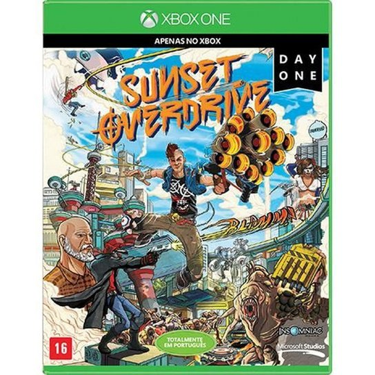 Game Xbox One Sunset Overdrive Day One - Incolor