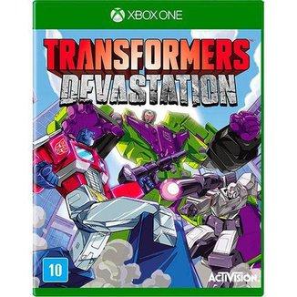 Game Xbox  One Transformers Devastation