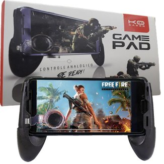 Gamepad Para Celular Com Controle Analógico Jogar Games Confortável E Com Base