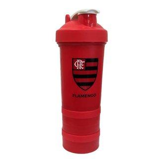 Garrafa Flamengo Shakeira Com Compartimento 500 ml UN