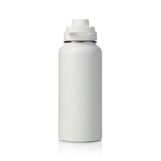 Garrafa Térmica Hydra Branca 950ml Pacco - Branco