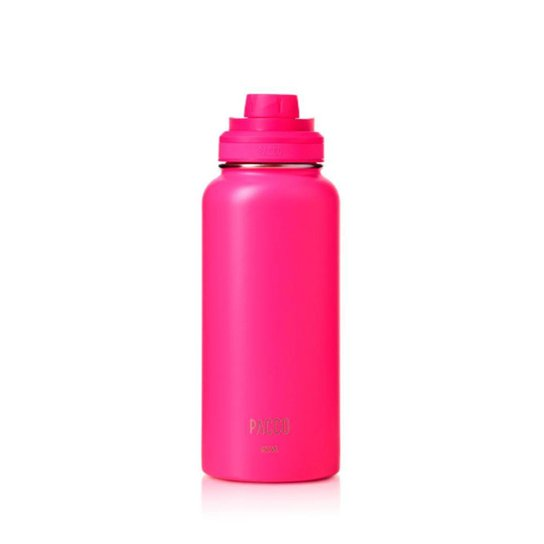 Garrafa Térmica Hydra Pink 950ml Pacco - Rosa
