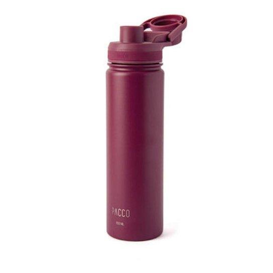 Garrafa Térmica Hydra Vinho 650ml Pacco - Vinho