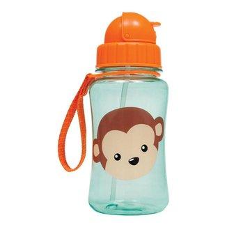 Garrafinha Infantil Com Canudo Animal Fun Macaco Buba +12M
