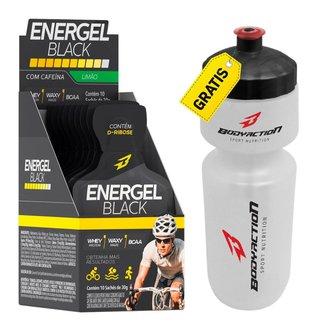 Gel Energel Black Cx 10 Sachês + Squeeze - Body Action