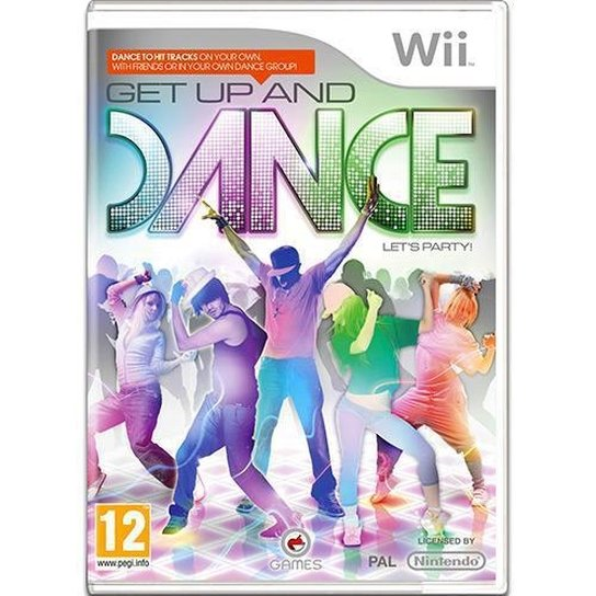 GET UP AND DANCE - WII - Incolor