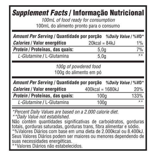 Glutamina 100% 300G - Bodybuilders -