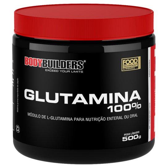 Glutamina 100% 500G - Bodybuilders -