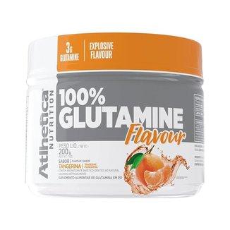 Glutamina 100% Flavour 200g - Atlhtetica Nutrition