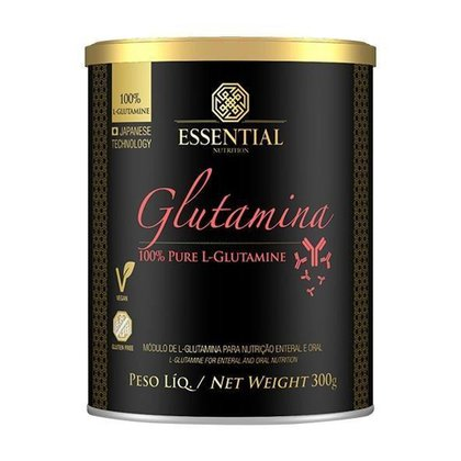 Glutamina 100% Pure 300g - Essential Nutrition