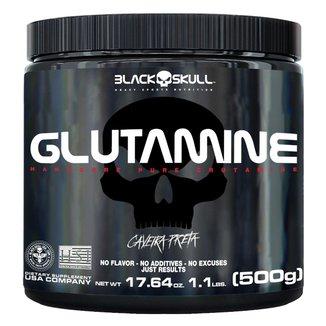 Glutamina Black Skull 500g