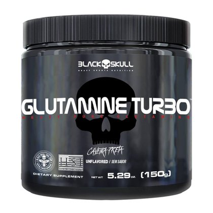 Glutamina / Glutamine Turbo 150g - Black Skull