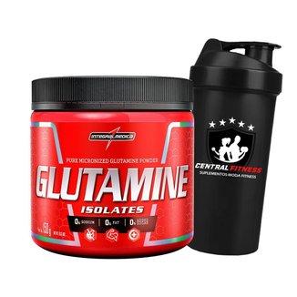 Glutamina Isolates 150g + Coqueteleira - Integralmedica