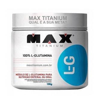 GLUTAMINA L-G - 150g MAX TITANIUM