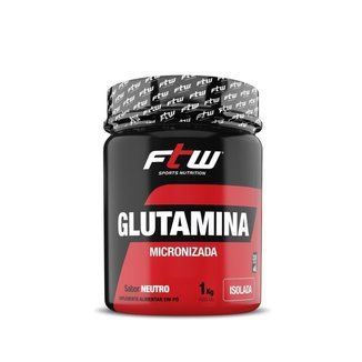 Glutamina Micronizada Isolada  1000G Neutro  Ftw