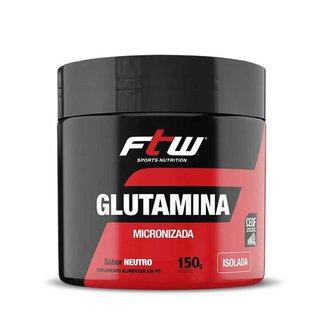 Glutamina Micronizada Isolada 150g - FTW