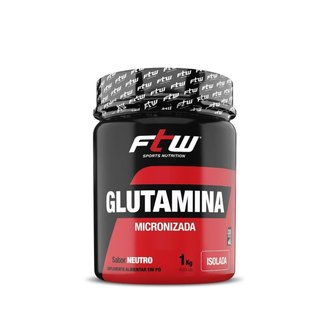 Glutamina Micronizada Isolada 1Kg - Ftw