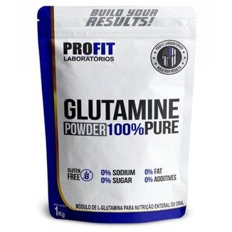 Glutamina Powder 100% Pura Refil 1kg Profit