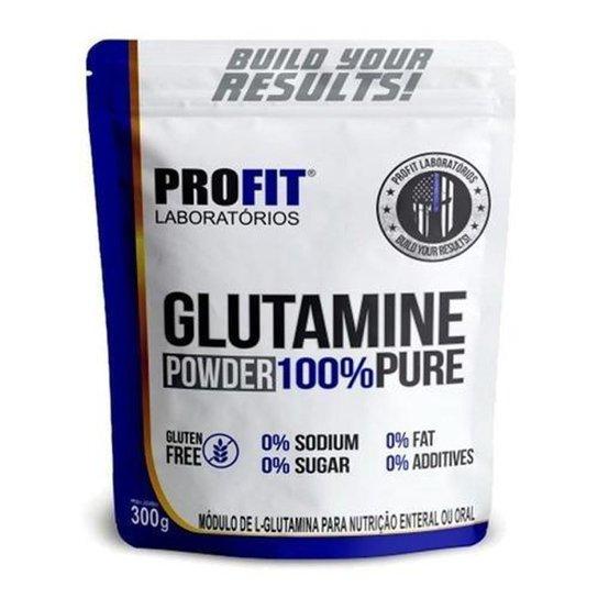Glutamina Powder 100% Pure 300g Refil - Profit -