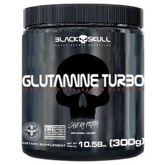Glutamina Turbo 300g Black Skull