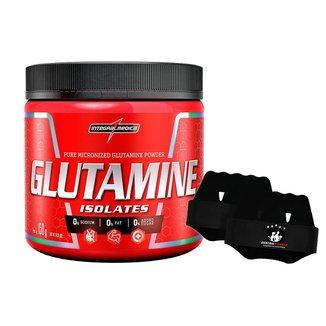Glutamine Isolates 150g + Luva - Integralmedica