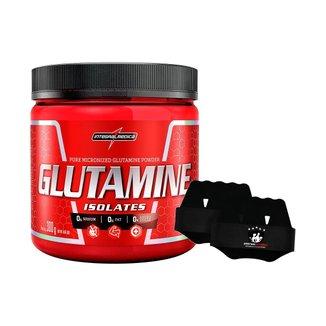 Glutamine Isolates 300g + Luva - Integralmedica