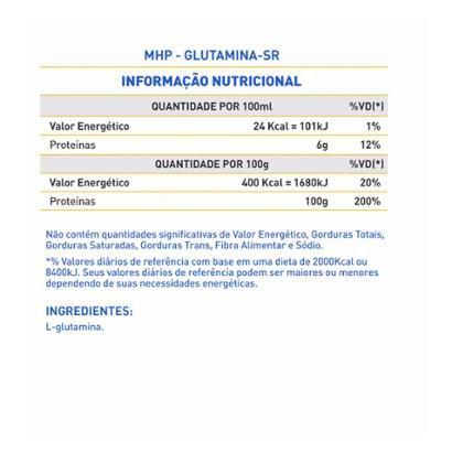 Glutamine-Sr Time Release (300G) – Mhp