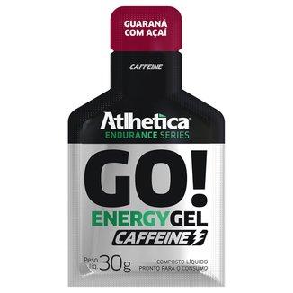 Go! Energy Gel Caffeine c/ 10 Unidades - Atlhetica Nutrition