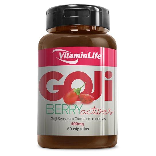 Goji Berry 60 Cáps - VitaminLife -