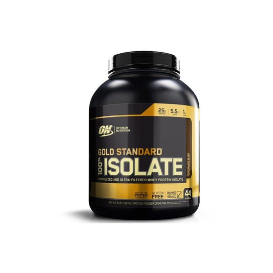Gold Standard 100% Isolate (2.91Lbs/1.320G) - Optimum Nutrition
