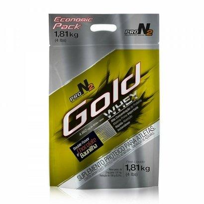 Gold Whey Concentrado - Sacola 1.8kg - 2 sabores - Pronutrition ProN4