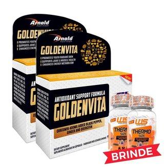 Goldenvita Arnold Nutrition 60 Cápsulas - Leve 2 Pague 1
