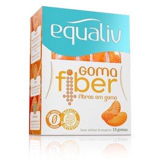 Goma Fiber Fibras Prebiótica Equaliv 15 gomas