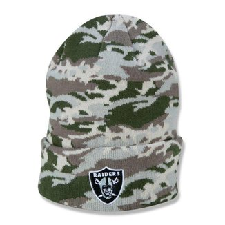 Gorro New Era Las Vegas Raiders NFL Military Full Print