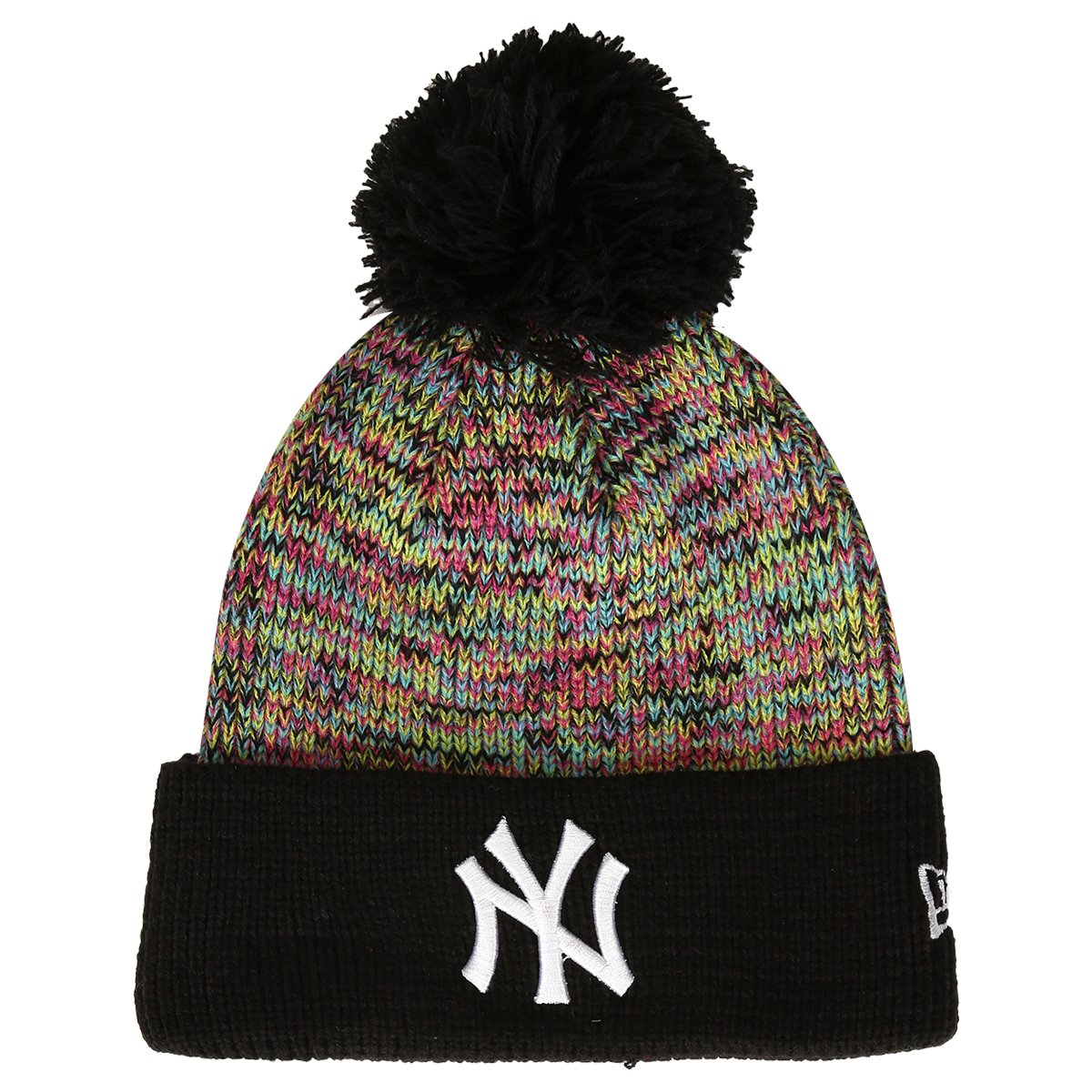 a74a57b8b3f7b Gorro New Era MLB Multi Pop Knit New York Yankees - Compre Agora ...
