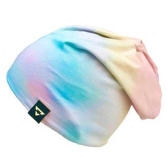 Gorro Touca Brohood Malha Tie Dye Claro
