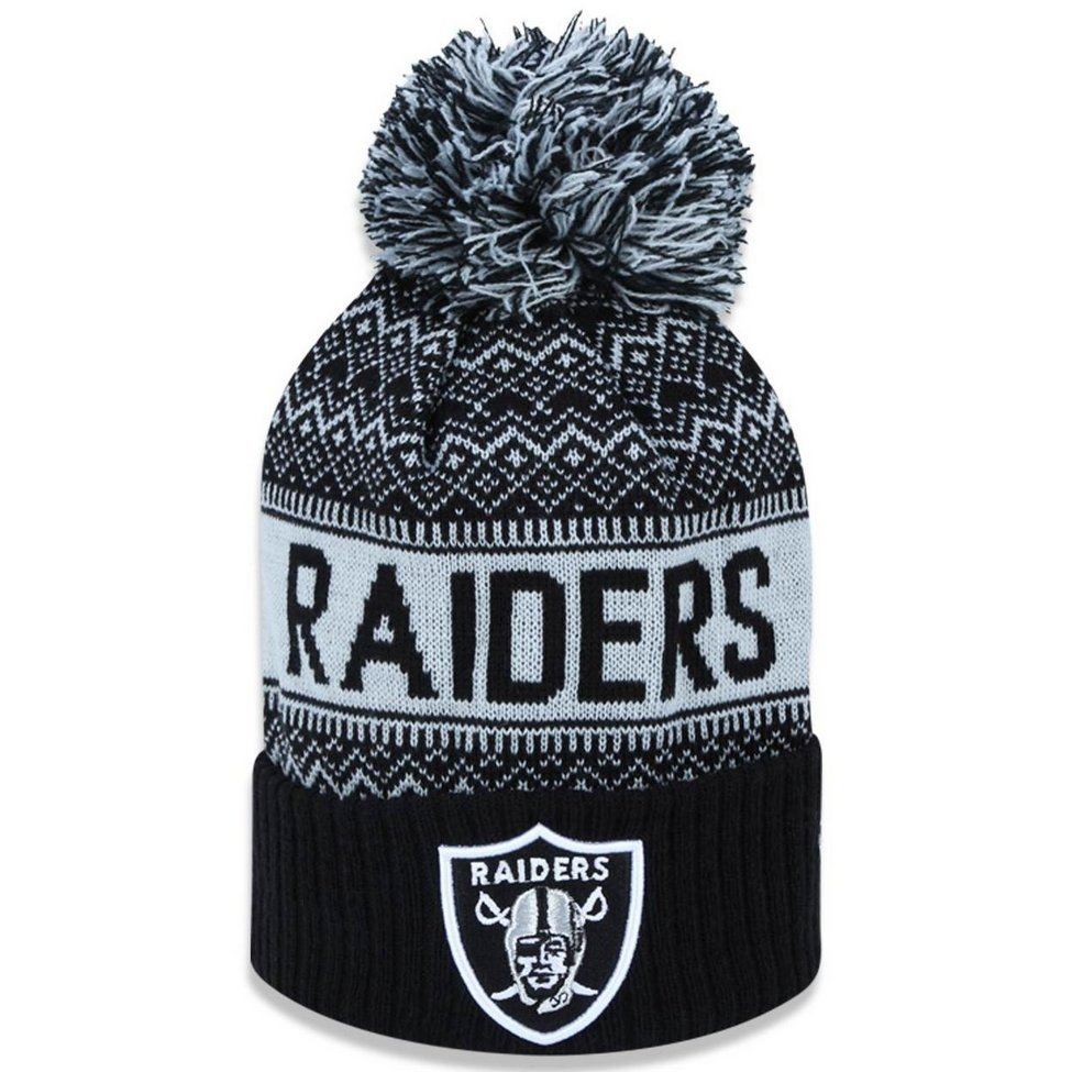 d189cd876bb52 Gorro Touca Oakland Raiders Wintry Pom New Era - Compre Agora