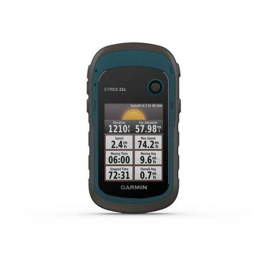 GPS Portátil Garmin eTrex 22x GPS/GLONASS com Mapa TopoActive América do Sul 8GB Memória Interna B - Azul