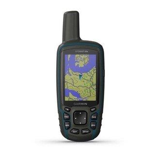 GPS Portátil Garmin GPSMAP 64x GPS/GLONASS com Mapa TopoActive América do Sul, com Antena Helix Quád