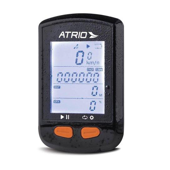 Gps Steel Bluetooth Com Sensor De Cadência Atrio - Preto