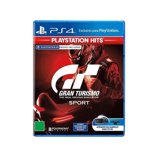 Gran Turismo Sport PlayStation Hits para PS4 - Incolor
