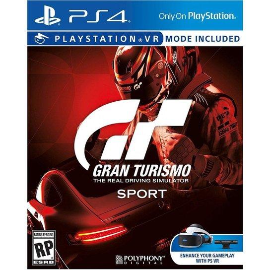 Gran Turismo Sport - Ps4 - Incolor
