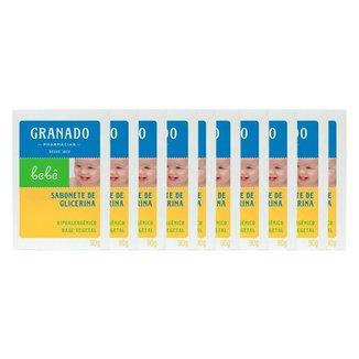 Granado Bebê Kit – 10 Sabonetes em Barra Kit