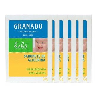 Granado Bebê  Kit – 6 Sabonetes em Barra Kit