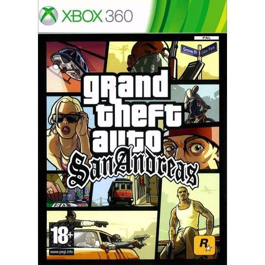 Grand Theft Auto San Andreas - Xbox 360 - Incolor