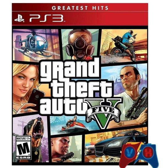 Grand Theft Auto V - Ps3 - Incolor