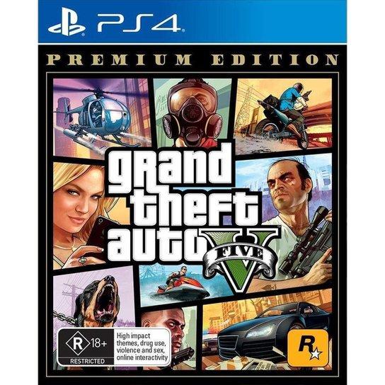 Grand Theft Auto V - Ps4 - Incolor