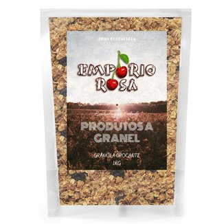 Granola Crocante Empório Rosa Granel 1Kg